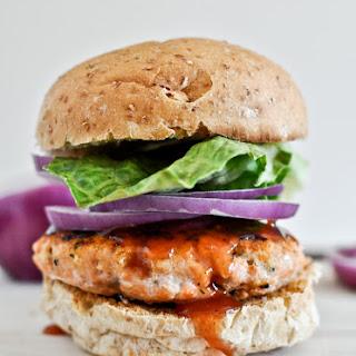 BBQ Salmon Burgers Recipe