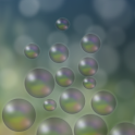 Bubbles live wallpaper logo