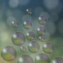 Bubbles live wallpaper logo
