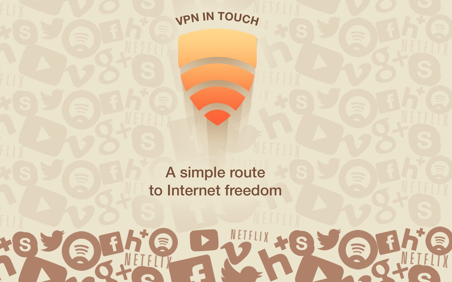VPN in Touch- screenshot