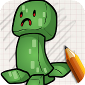 Download Draw Minecraft Chibi Edition APK to PC