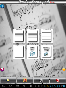 music score writing android games