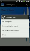 Screenshot of Azan Ringtones