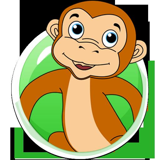 Jumping Monkey Game LOGO-APP點子