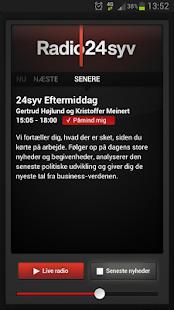 Radio24syv- screenshot thumbnail