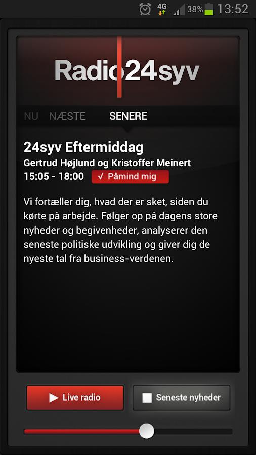 Radio24syv- screenshot