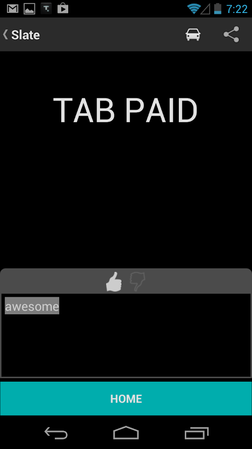 TabbedOut - screenshot
