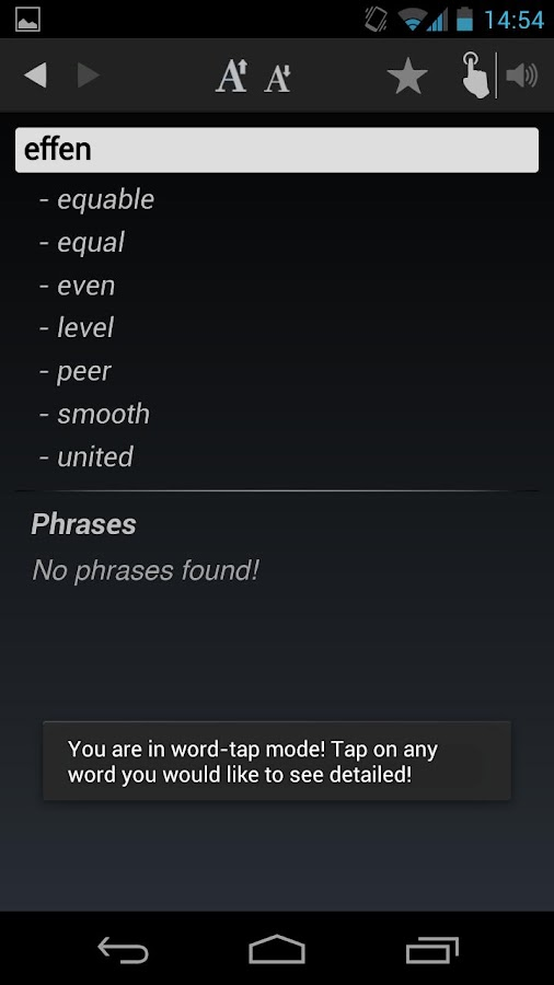 Free Dict Dutch English- screenshot