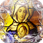Virgin Maria Jigsaw Puzzle