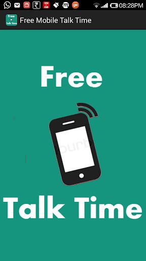 Free Mobile Talk Time