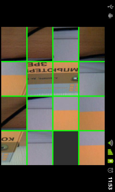 opencv-sample-15-puzzle - screenshot
