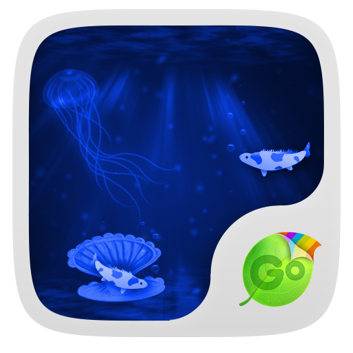个人化のDeep Blue Sea Keyboard Theme LOGO-記事Game