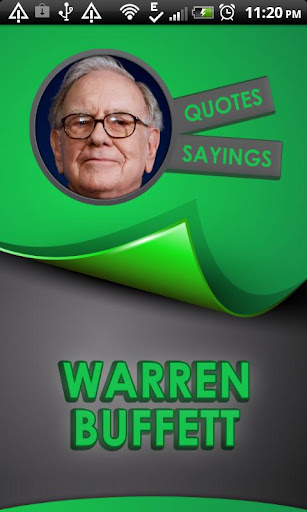 Warren Buffett Quotes Says