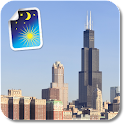 Chicago Night & Day LWP Free icon