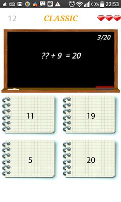 Mental Calculation - screenshot