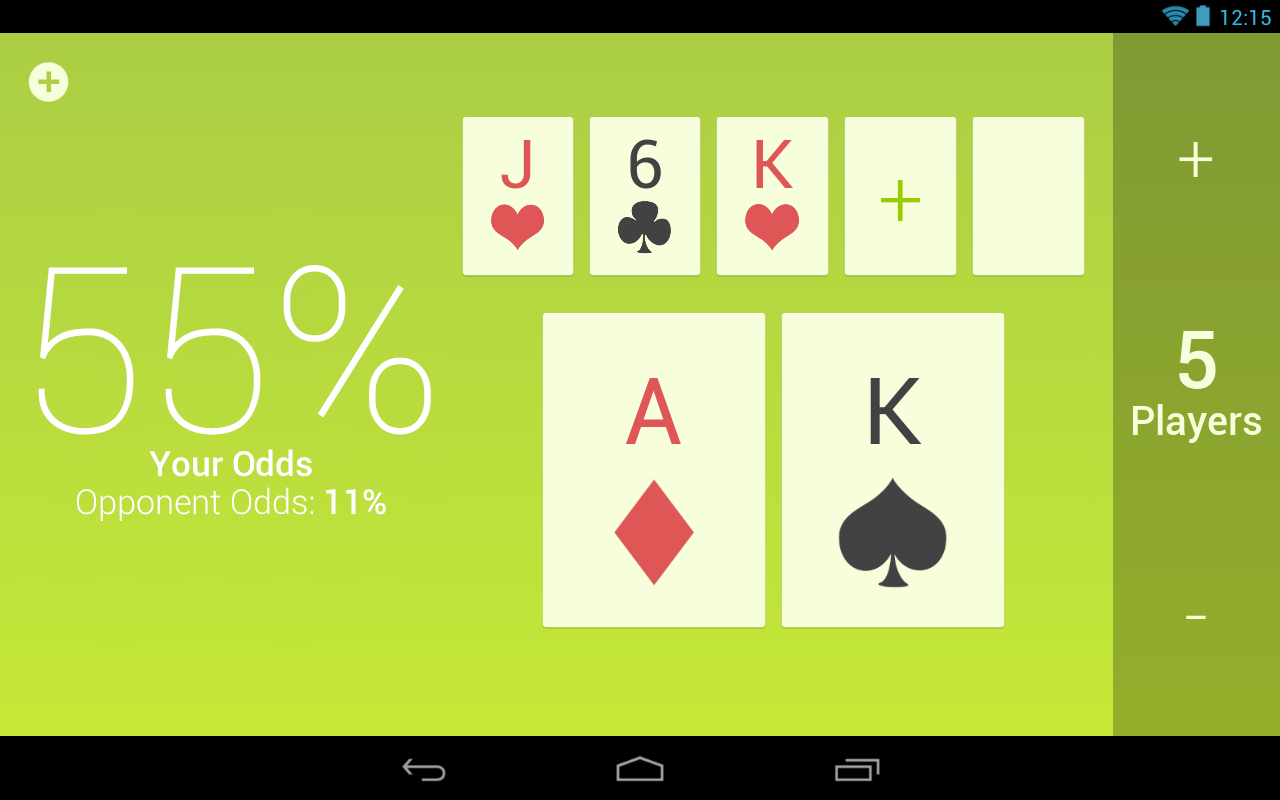 Hold 'Em Odds - Poker Assist - screenshot