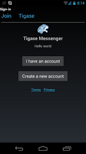Tigase Messenger- screenshot thumbnail
