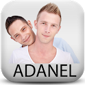 Adanel - chat gay ligar gratis icon