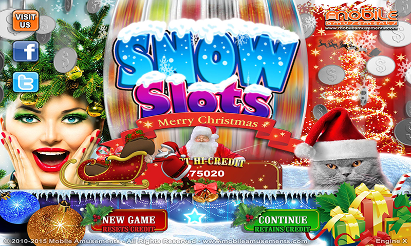 Snow Slots Merry Christmas Santa's Surprise TV- screenshot