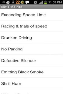 Traffic Fines India- screenshot thumbnail