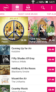 hmv music - screenshot thumbnail