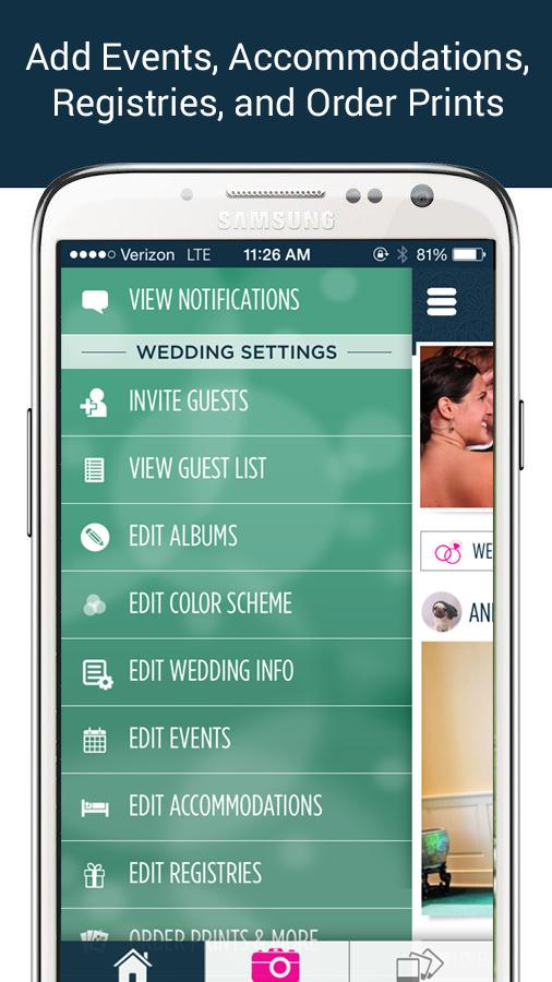 WedPics - Wedding Photo App- screenshot