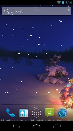 Winter Snow Live Wallpaper