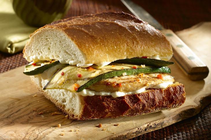 Italian Chicken Sandwiches Recipe
