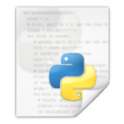 python for unix and linux icon