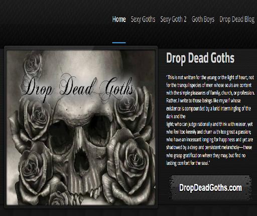 Drop Dead Goths Photographs