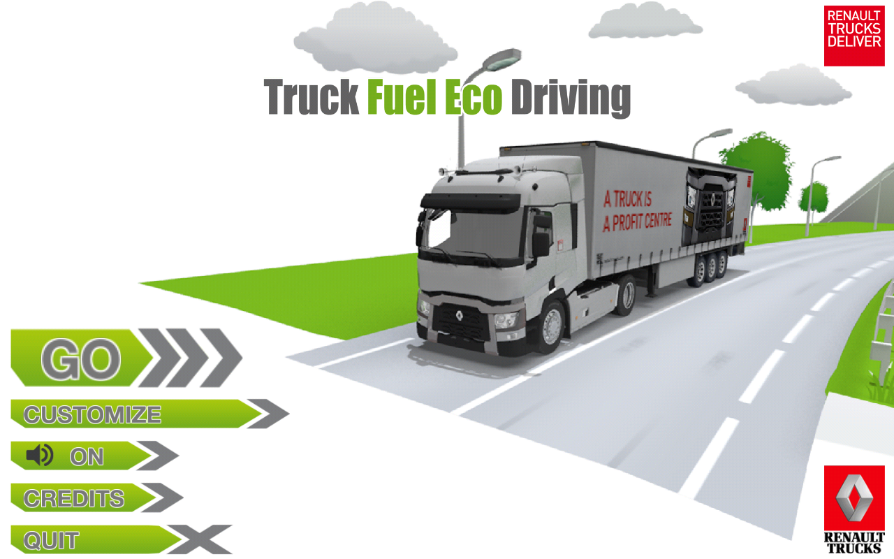 Truck Fuel Eco Driving – Capture d'écran