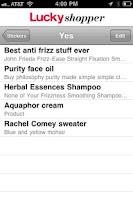 Screenshot of Lucky Shopper