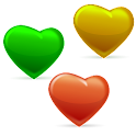 Falling Hearts - Love game icon