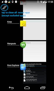 Recent App Cleaner - Xposed