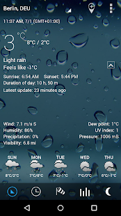 3D Sense Clock & Weather- screenshot thumbnail