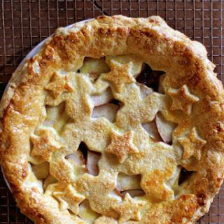 Vanilla-Scented Quince and Pear Pie Recipe