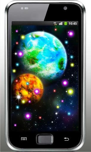 Space World HD live wallpaper
