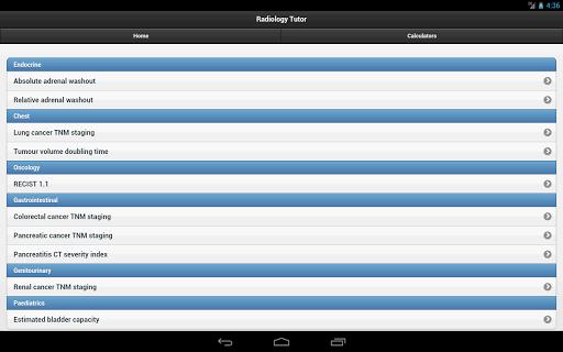 【免費醫療App】Radiology Tutor-APP點子