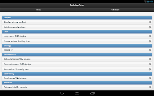 Radiology Tutor screenshot for Android