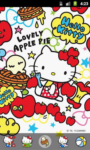 Hello Kitty Apple Pie Theme