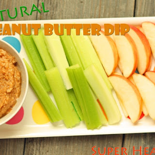 All Natural Peanut Butter Dip