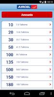 Screenshot of Aircel Pocket Payment