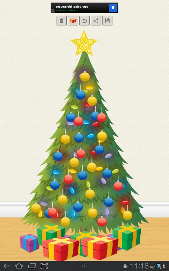 Christmas Tree Decorator- screenshot