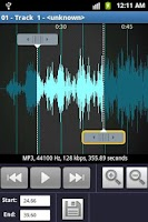 Screenshot of Ringtone Maker and MP3 cutter