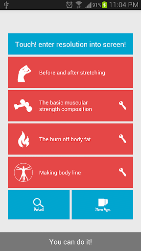 Home exercise diet free body