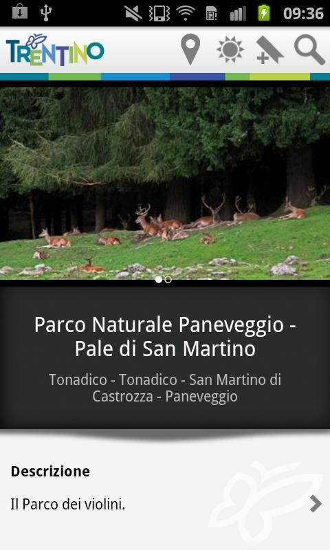 Visit Trentino Travel Guide- screenshot