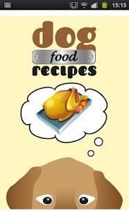 Dog Food Recipes- screenshot thumbnail