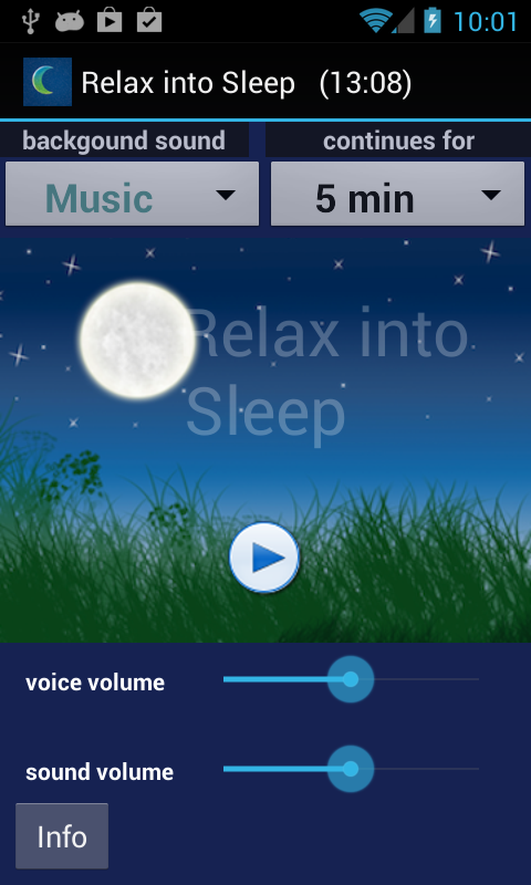 iSleep Easy Meditations Free- screenshot