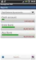 Screenshot of MoneyFlow Expense Manager