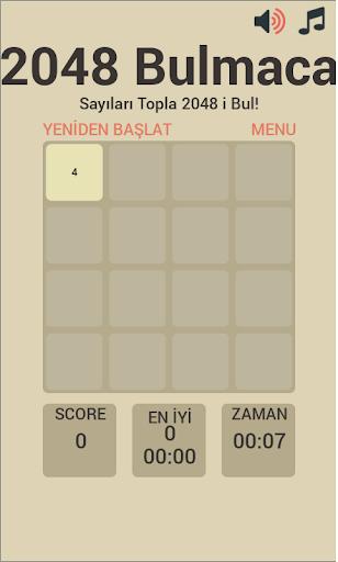 2048 Bulmaca Oyunu